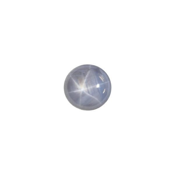 6.2ct Round Cabochon Star Sapphire 10.4-10x5.4mm