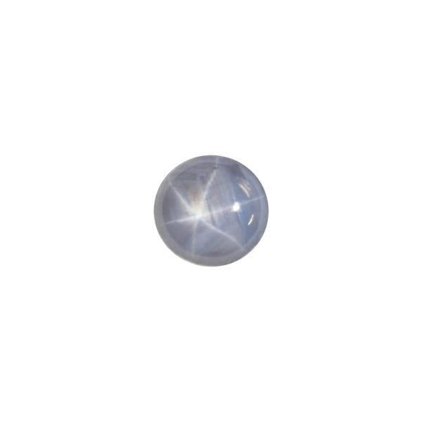 6.2ct Round Cabochon Star Sapphire 10.4-10x5.4mm - Dynagem