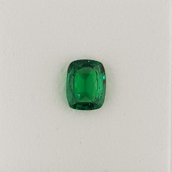 2.20ct Cushion Cut Tsavorite Garnet 8.9x7mm - Dynagem