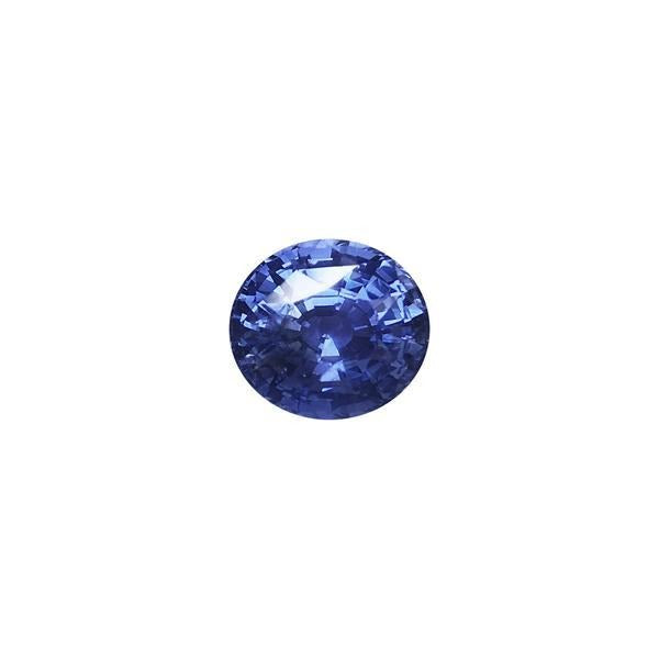 5.47ct Oval Faceted Sapphire 10.6x9.6mm