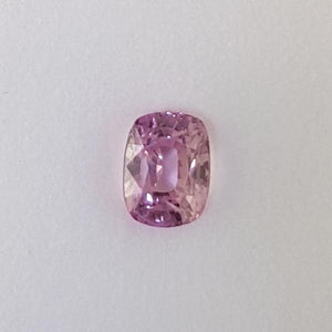 4.23ct Cushion Cut Pink Sapphire 9.2x7mm