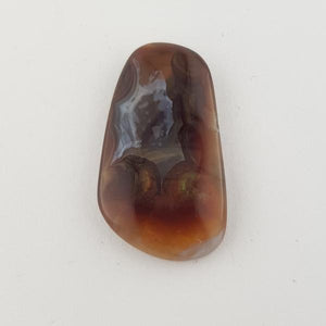 24.04ct Freeform Fire Agate 30.0x17mm