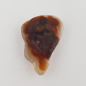 21.56ct Freeform Fire Agate 28x18.5mm