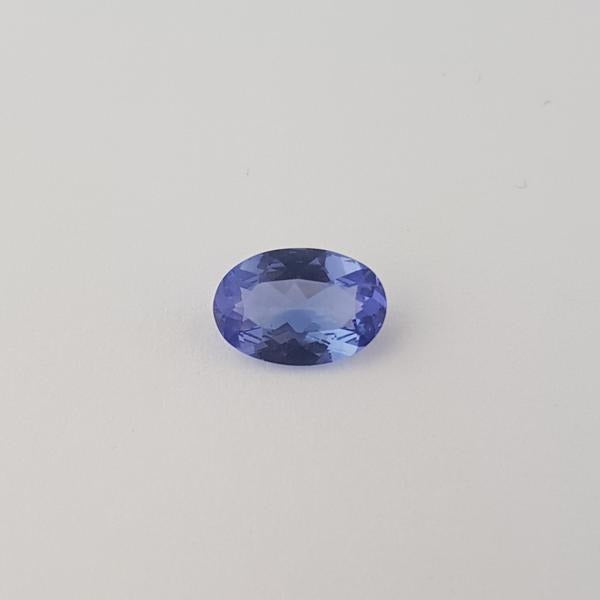 1.20ct Oval Faceted Tanzanite 8.9x6mm
