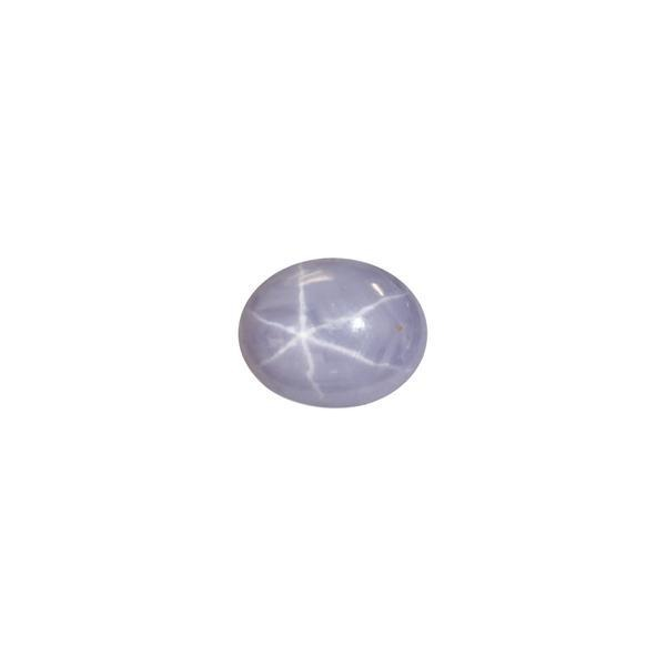 4.67ct Oval Cabochon Star Sapphire 8.5x6.8mm - Dynagem