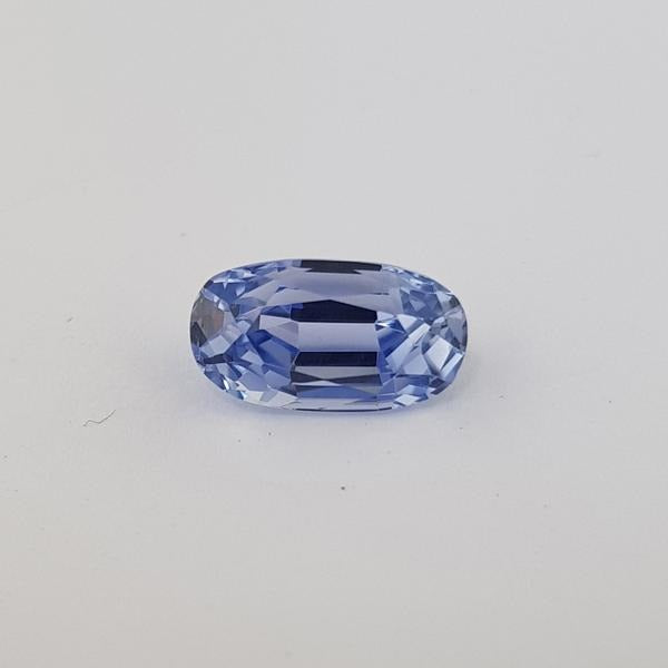4.29ct Oval Faceted Sapphire Certified Unheated 11.6x6mm