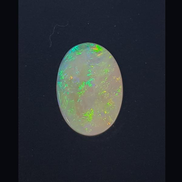 4.51ct Oval Cabochon Opal 19.8x14.0mm - Dynagem