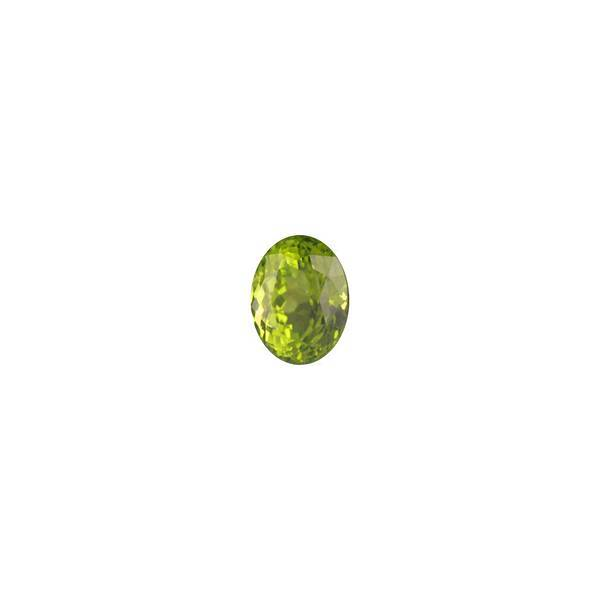4.95ct Oval Faceted Peridot 11.2x8.5mm - Dynagem