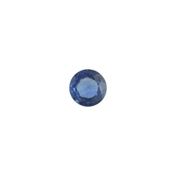 0.58ct Round Faceted Sapphire 5.1mm