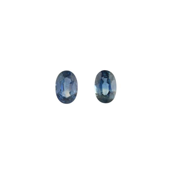 1.46ct Pair of Oval Sapphires 6.1x4.0mm - Dynagem