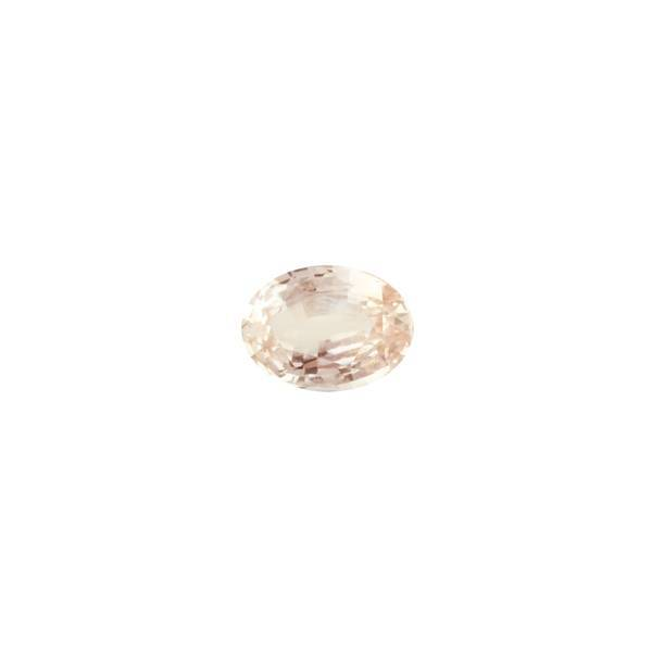 4.34ct Oval Peach Sapphire 11.8x8.6mm - Dynagem