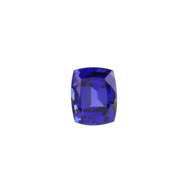 5.90ct Rectangular Cushion Tanzanite 11.1x8.8mm