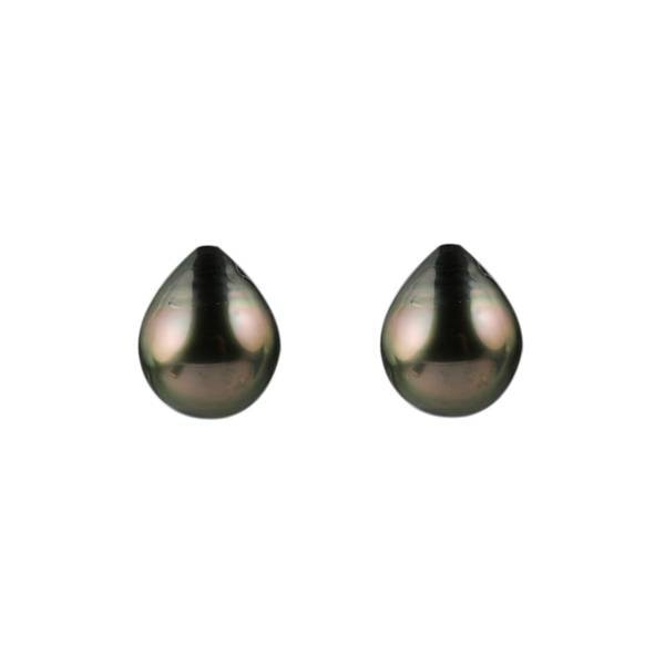 14ct Tahitian Pearl Drops 11x9mm