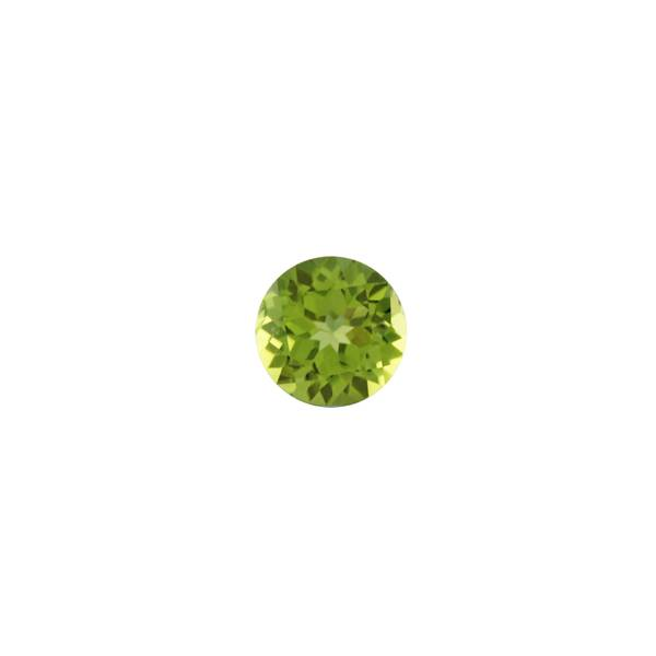 Round Faceted Peridot 8mm - Dynagem