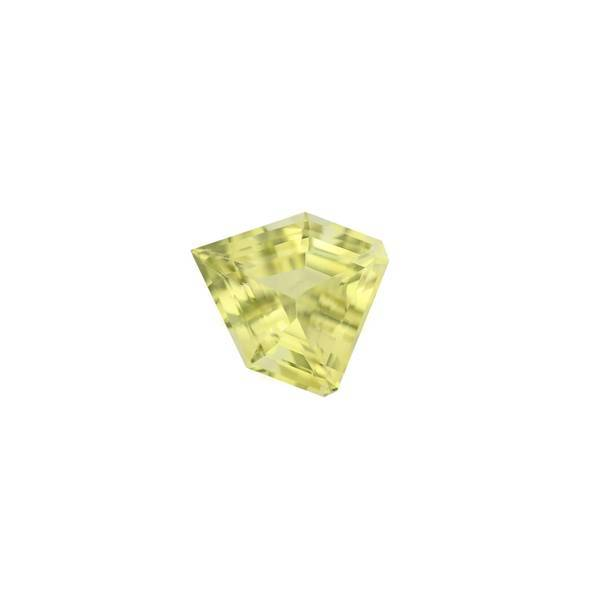 22.51ct Fancy Pentagon Cut Lemon Quartz 20x18mm - Dynagem