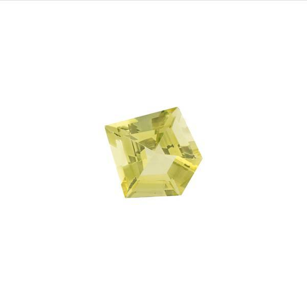 18.01ct Fancy Pentagon Cut Lemon Quartz