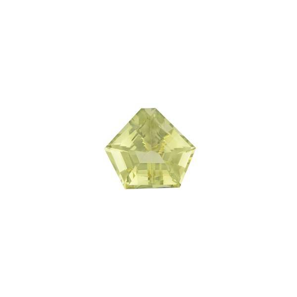 23.54ct Fancy Pentagon Cut Lemon Quartz 21.5x19mm