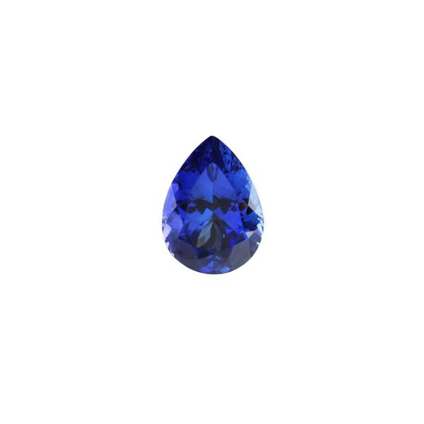 7.47ct Pear Tanzanite 14.9x10.9mm