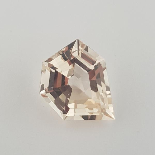6.13ct Fancy Hexagon Cut Morganite - Dynagem