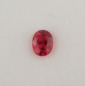 1.01ct Oval Faceted Spinel 6.5x5.2mm