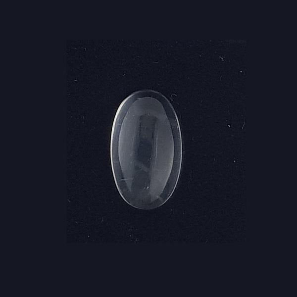 7.15ct Oval Cabochon Blue Moonstone Doublet 15x9mm - Dynagem
