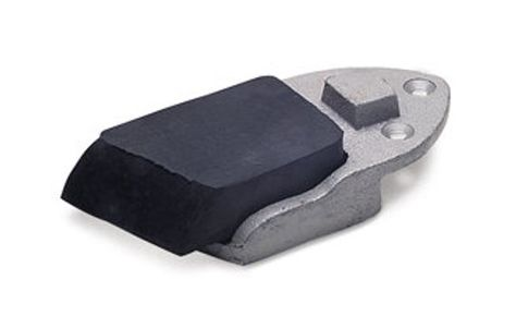 Rubber Working block x 34mm Rubber with Holder