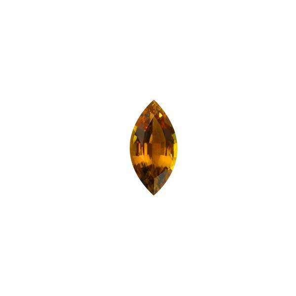 2.76ct Marquise Cut Brown Tourmaline 15x7.5mm