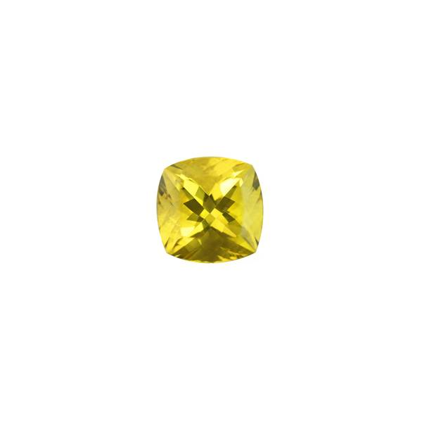 12.28ct Cushion Heliodor 14.3mm