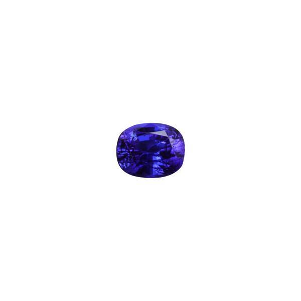 5.73ct Cushion Tanzanite 11.8x9.7mm