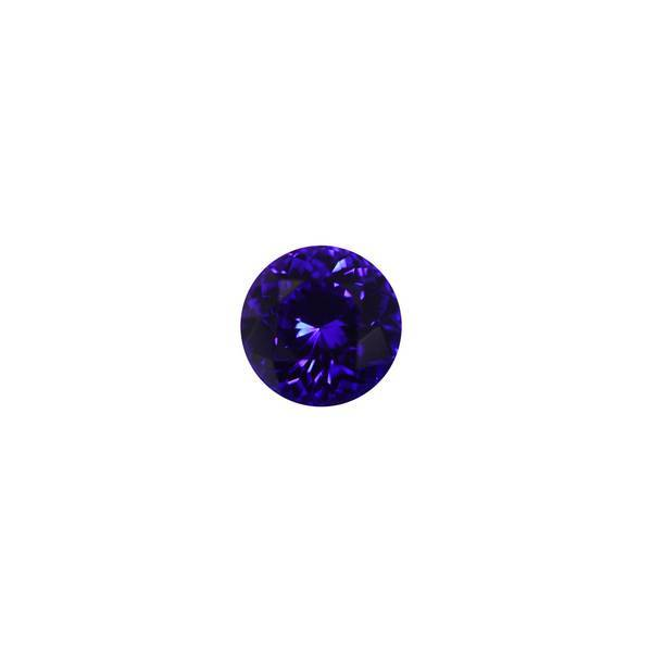 9.32ct Round Tanzanite 12.6mm