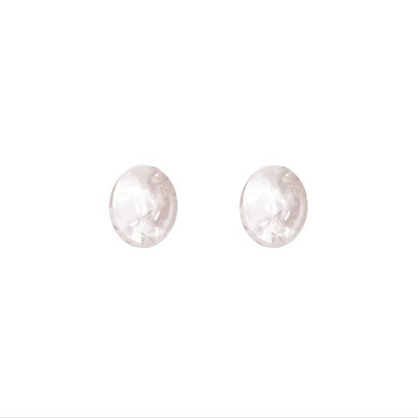 17.28ct Pair of Oval Kunzite Cabochons 12x10mm - Dynagem