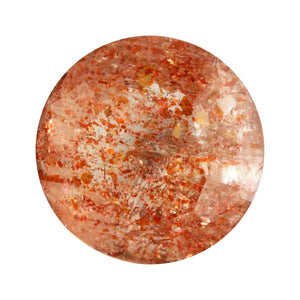 13.85ct Round Faceted Sunstone 15.5mm
