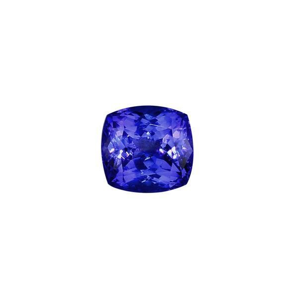 5.19ct Cushion Tanzanite 9.8x9.2mm