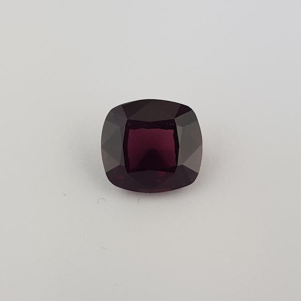 12.65ct Cushion Cut Garnet 14.5x13.5mm - Dynagem