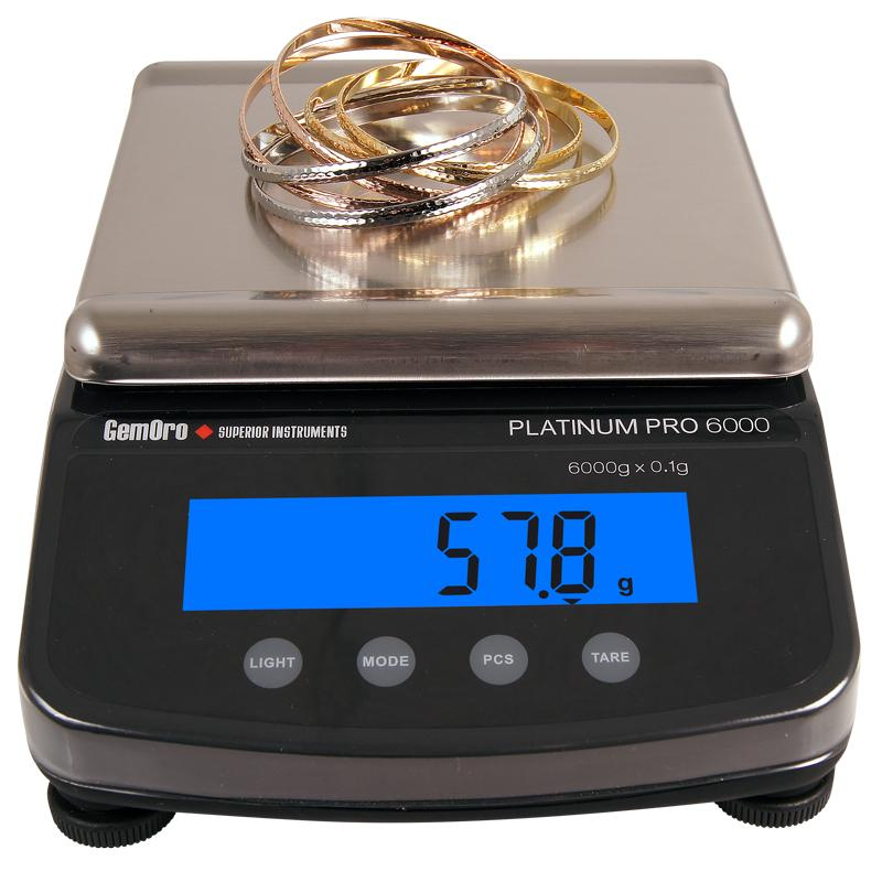 PROFESSIONAL SERIES DIGITAL COUNTER-TOP / PORTABLE BALANCE - Dynagem