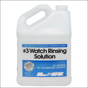 L&R 3 Watch Rinsing Fluid 3.8 Litres