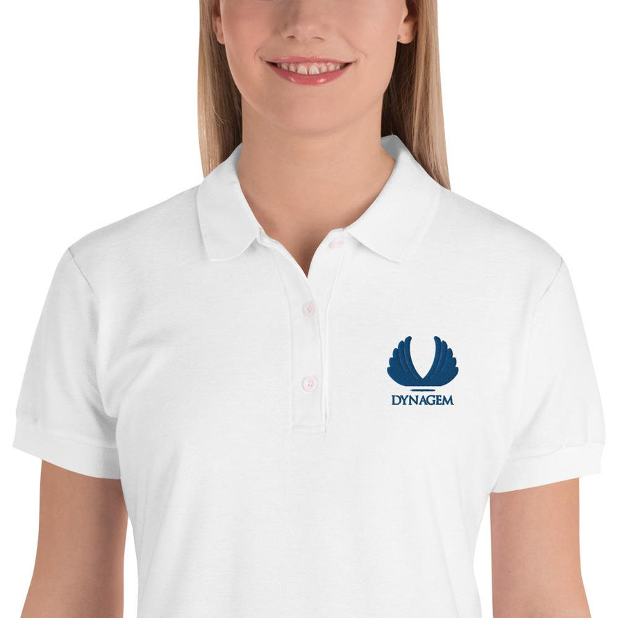 Embroidered Women's Polo Shirt - Dynagem