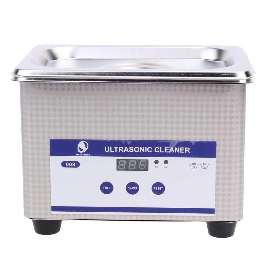 35W 42kHz 800ml Digital Ultrasonic Cleaning Transducer Baskets Jewelry Watches PCB CD Mini Ultrasonic Cleaner Bath