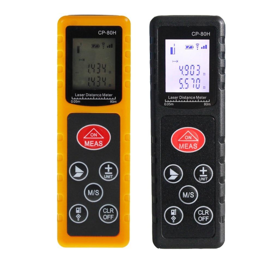 Mini 80M Handheld Digital Laser Distance Meter Range Finder - Dynagem