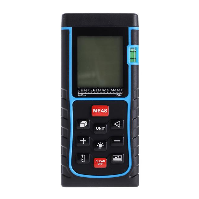 100M 3937IN 328FT Digital Laser Distance Meter Tape Range Finder