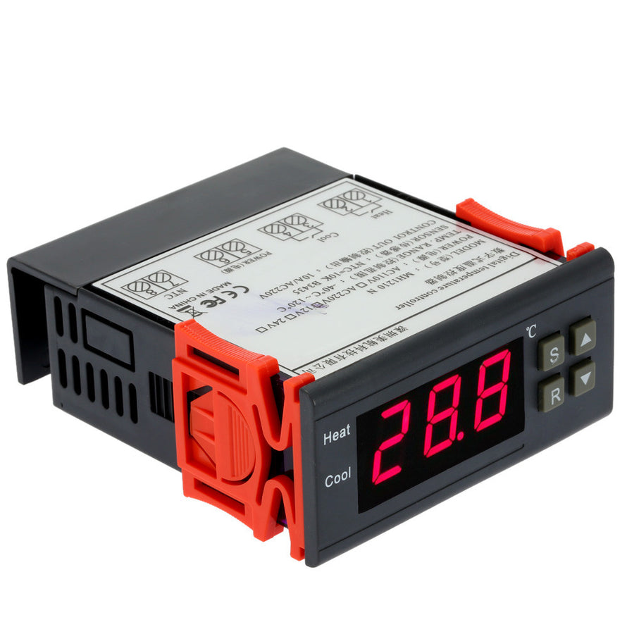 10A 220V Mini Digital Temperature Controller Thermocouple -40~120 Celsius Degree with Sensor