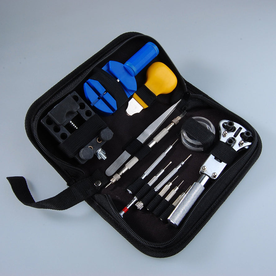 Watch Repair Tool Kit, 13-Piece - Dynagem