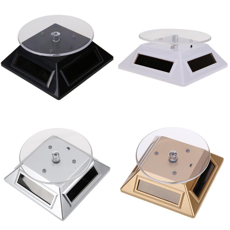 Watch Solar Light  Rotating Display Stand