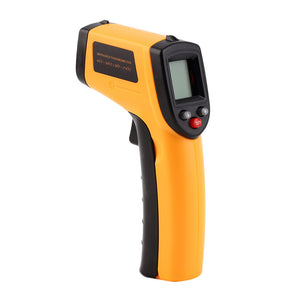 Infrared Thermometer -50~380°C 12:1 Handheld Non-contact Digital Infrared IR Thermometer Temperature Tester Pyrometer LCD Display with Backlight
