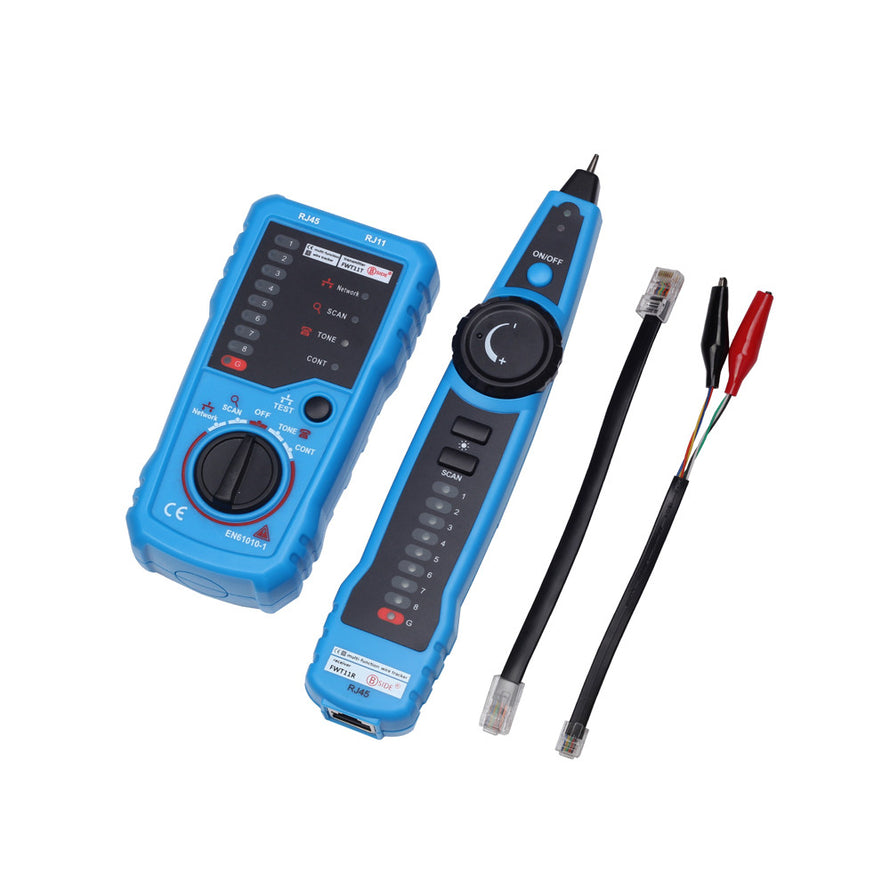 Multi-functional Handheld Wire Tester Tracker Line Finder Cable Testing Tool for Network Maintenance