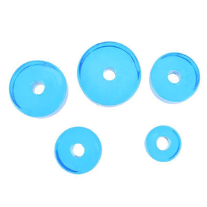 5pcs Watch Bezel Inserts Clock Cushion Pads Diameter 19mm/25mm/27mm/31/35mm - Dynagem