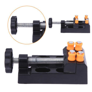 Adjustable Watch Tools Table Bench Watch Repair Tool Kit Aluminium Alloy Clock Nutcracker Watch Hands