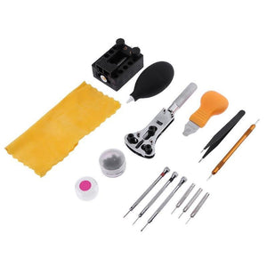 15pcs Watch Repair Tool Kit Set - Dynagem
