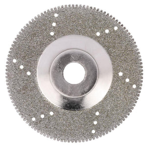"100mm 4"" Inch Diamond Coated Grinding Polishing Grind Disc Saw Blade 16mm Inner Diameter Rotary Wheel Grit For Angle Grinder"