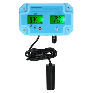Professional 3 in 1 pH/TDS/TEMP Meter Water Detector Multi-parameter Digital LCD Tri-Meter Multi-function Water Quality Monitor Multiparameter Water Quality Tester